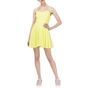 🦩3/$23 | Talula Lipinski Skater Neon Mini Dress